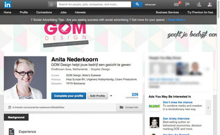 GOM Design - LinkedIn headerfoto